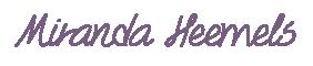 Miranda Heemels - KnipZe HaarZorg Thuis - Swalmen